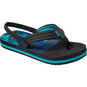 Reef Little Ahi Sandals Kids, aqua palms